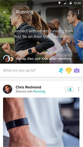 Fitbit Community—Feed