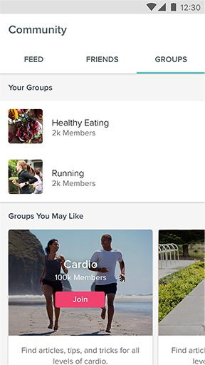 Fitbit Community – Groups