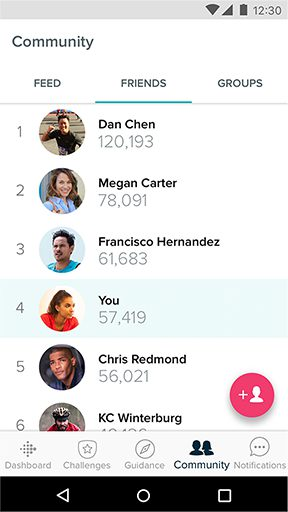 Fitbit Community – Friends