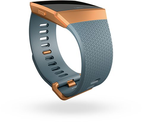 岩藍色經典錶帶