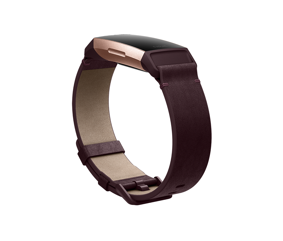 752a08934 Fitbit Charge 3™ Accessories. Horween® Leather Band